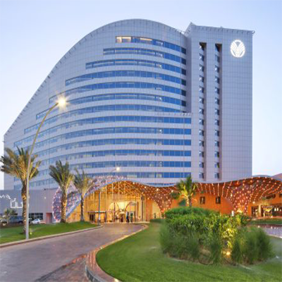 The Rotana Hotel in Amwaj